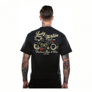 Lucky-13 T-Shirt - Vintage Iron