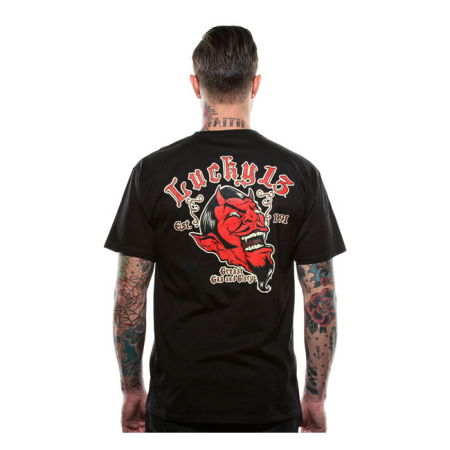 Lucky-13 T-Shirt - Grease, Gas And Glory