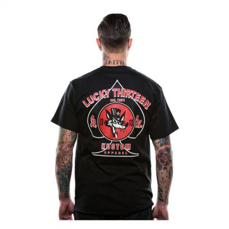 Lucky-13 T-Shirt - Wolfy