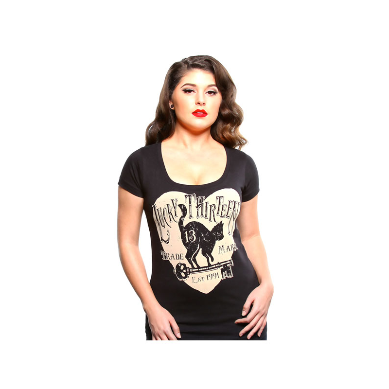 Lucky-13 Ladies T-Shirt - Prowl