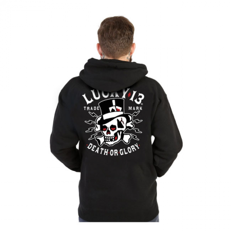 Lucky-13 Hoodie - Death Glory