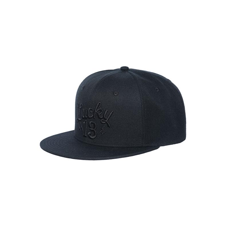 Lucky-13 Cap - Shocker Black