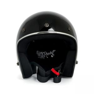 ROEG Helm Jett - Gloss Black mit ECE