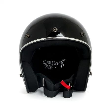 ROEG Helmet Jett - Gloss Black with ECE