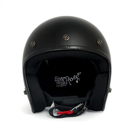 ROEG Helmet Jett - Matte Black with ECE