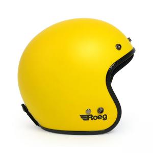 ROEG Helm Jett - Matte Yellow mit ECE