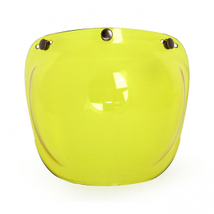 ROEG Bubble Visier Jett - Yellow