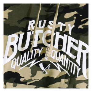Rusty Butcher Hoodie - Bitterness Camo