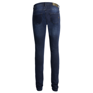 John Doe Ladies Jeans - Betty High Dark Blue Used-XTM