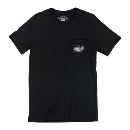 Biltwell T-Shirt - 4 Cam Pocket