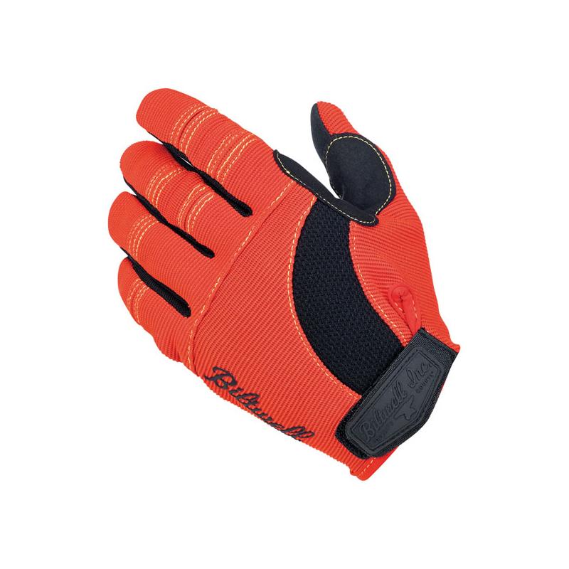 Biltwell Handschuhe - Moto Orange/Schwarz/Gelb