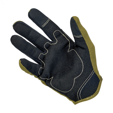 Biltwell Gloves - Moto Olive/Black