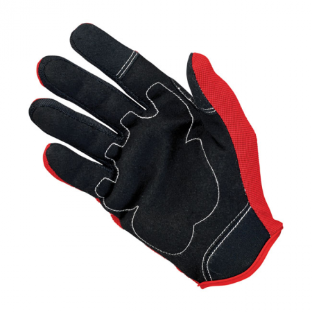 Biltwell Gloves - Moto Red/Black/White