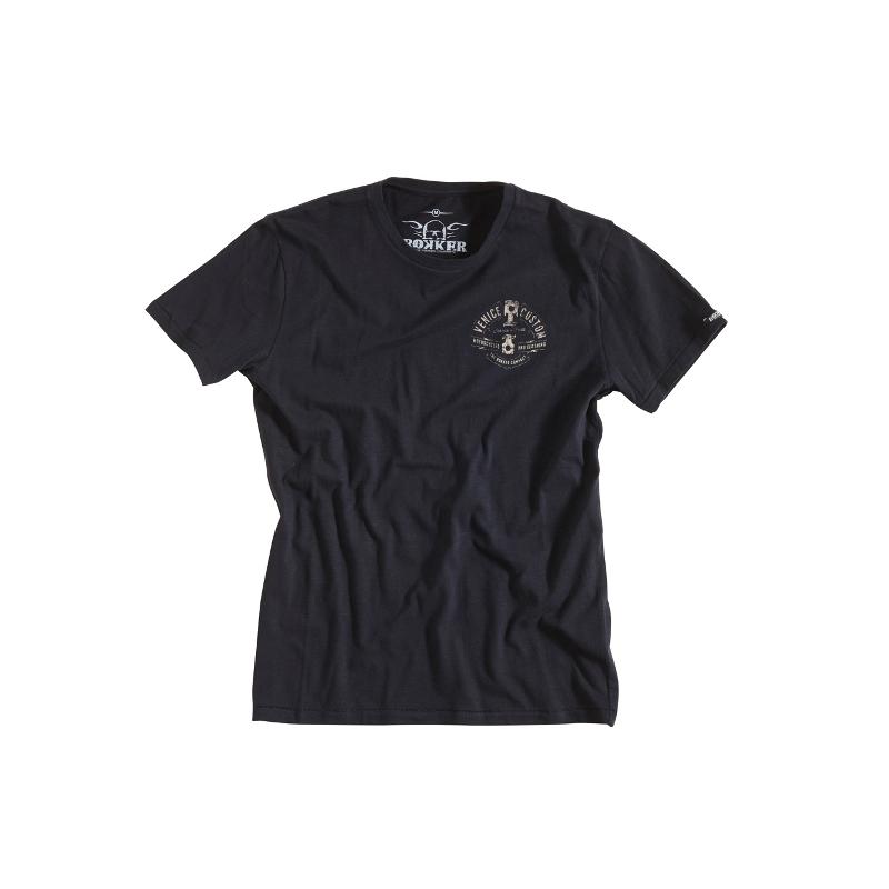 Rokker T-Shirt - Venice Custom Black