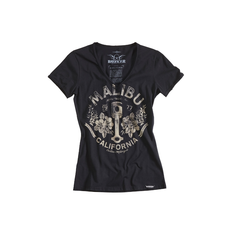 Rokker Frauen T-Shirt - Malibu