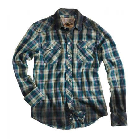 Rokker Shirt - Vermont Green