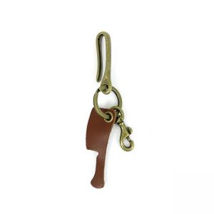 Rusty Butcher Schlüsselanhänger - Murdered Out Key Hanger Gegerbt