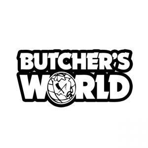 Rusty Butcher Aufkleber - Butchers World