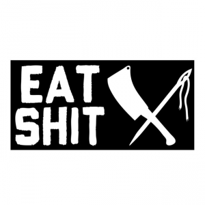 Rusty Butcher Aufkleber - Eat Shit