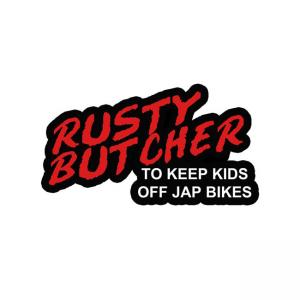 Rusty Butcher Aufkleber - Dare