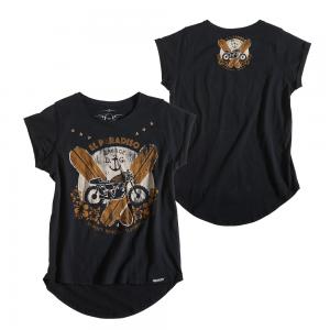 Rokker Frauen T-Shirt - El Paradiso Schwarz